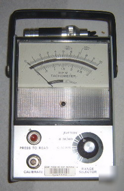 Power instruments b-891 hand held tachometer photo read