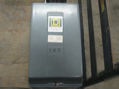 Square d electrically held lighting contactor 6 pole