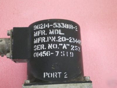 WR90 9.0-9.6GHZ waveguide switch 4 position / port