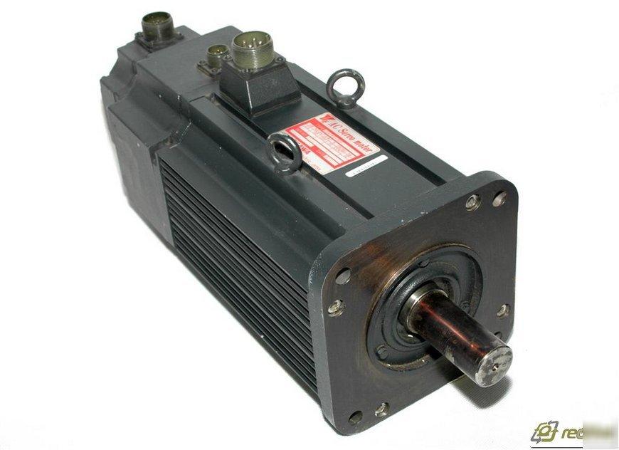 Yaskawa Usafed 30fb2ob Ac Servo Motor 2 9 Kw 1500 Rpm