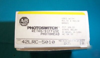 Allen bradley photoswitch retro/diffuse photohead * *