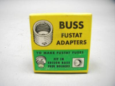 Buss bussman fustat adapters SA30 box of 4 adaptors