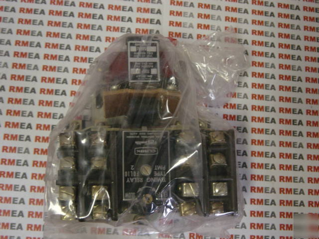 Clark a.c. pneumatic timing relay 7313 pmt 2