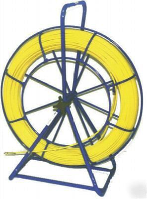 Electrical duct rodder fiberglass fish tape 1/4