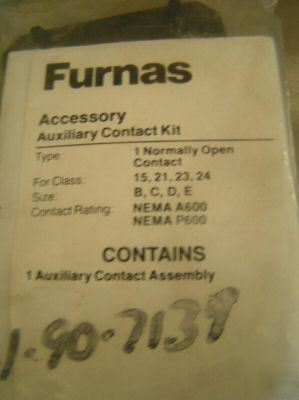 Furnas accessory auxiliary open contact kit 49ACR0
