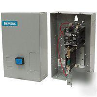 Magnetic motor starter 230 vac dpst 25 4 amp for Siemens magnetic motor starter