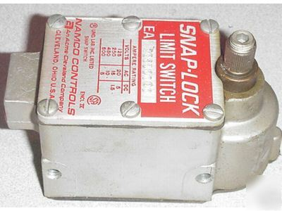 Namco swap-lock limit switch # ea 70010000