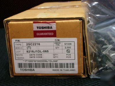 New PACK200, toshiba 2SC2216 C2216 npn transistor to-92