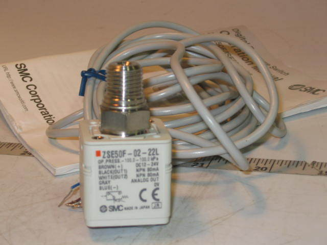 New smc high precision pressure switch ZSE50F-02-22L