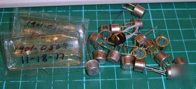Used lot of 2N* transistor parts some milspec assorted