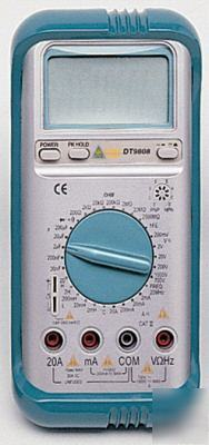 3 1/2 lcd multimeter, ac/dc/lcr/frequency/hfe/diode++