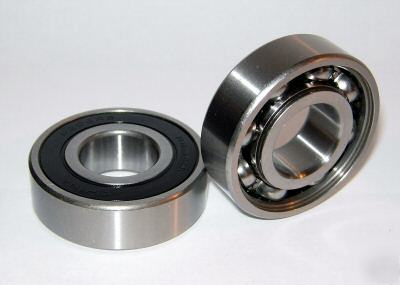 6204-1RS bearings, 20X47, open 1 side, 6204RS, 6204-rs