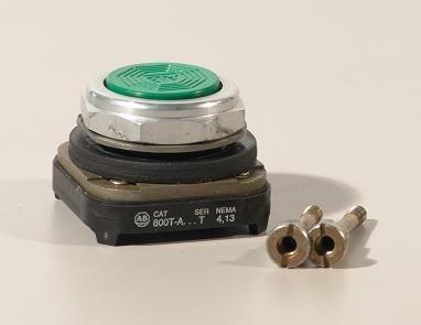 Allen bradley 800T-a pushbutton switch green