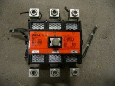 Asea size 5 contactor 270 amp EH250C AC3