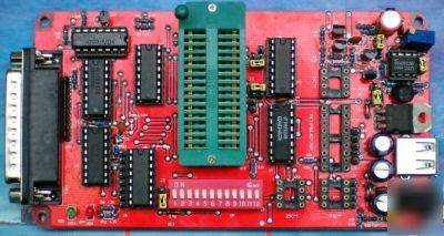 Dual powered willem universal eprom programmer+27C256