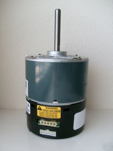 General electric ecm 2.3 series 1/2 hp motor 120 240 ac