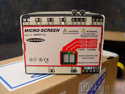 New banner micro-screen controller usdint-1L2 /unused