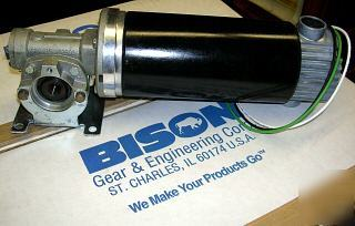 New bison right angle gear motor dc great torque