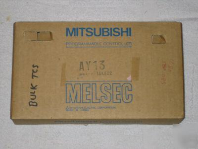 New mitsubishi melsec AY13 plc module, in box