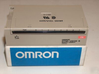 Omron G730-VID08-d input module remote terminal 8 point