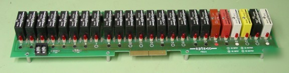Opto 22 PB24 i/o rack loaded with modules