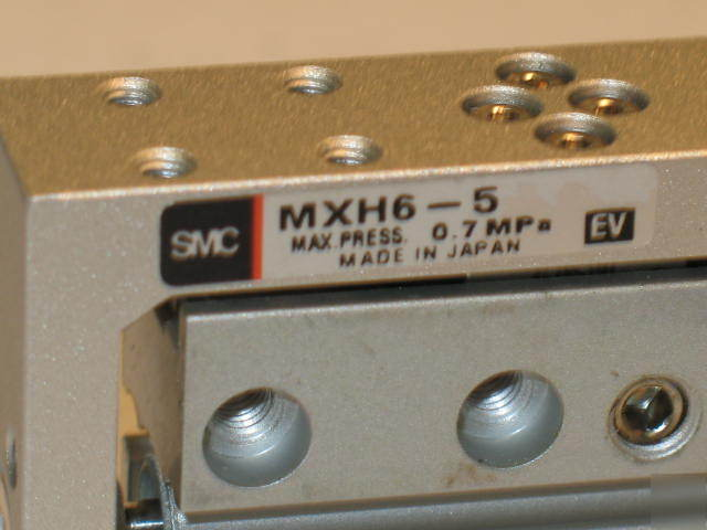 Smc pneumatic air linear guided slide MXH6-5