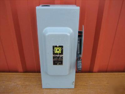 Square d HU363 safety switch 100 amp disconnect 100A F3