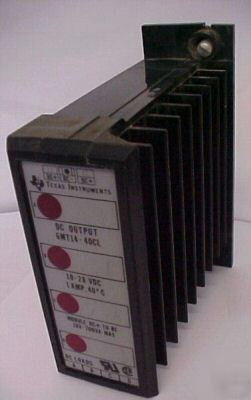 Texas instruments dc output 6MT14-40CL (0112)