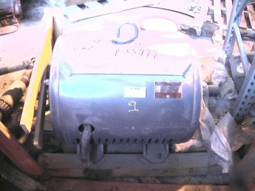 Unused lincoln 150 hp electric motor 460V 1780RPM 3-ph