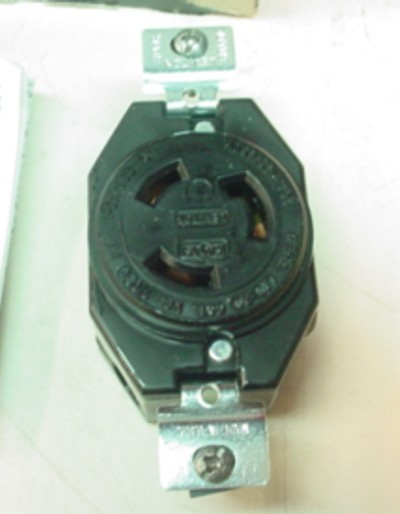 10 leviton locking L10-20 receptacles 20A 125/250V 2360