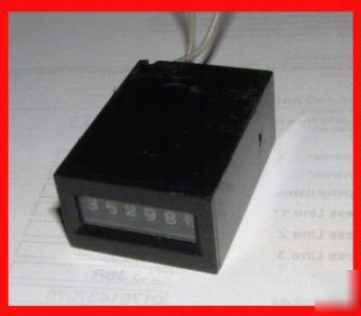 24 volt magnetic pulse counter