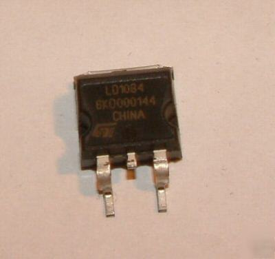 5X st LD1804D2T, 5A adjustable voltage regulator D2PAK