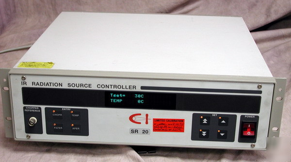 Ci systems sr-20 infrared ir radiation source control