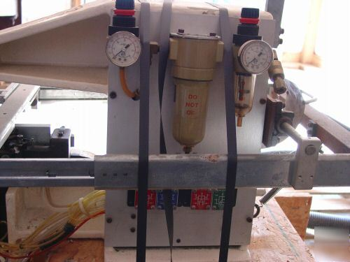 Dupont electronics pneumatic pin inserter model bp-161
