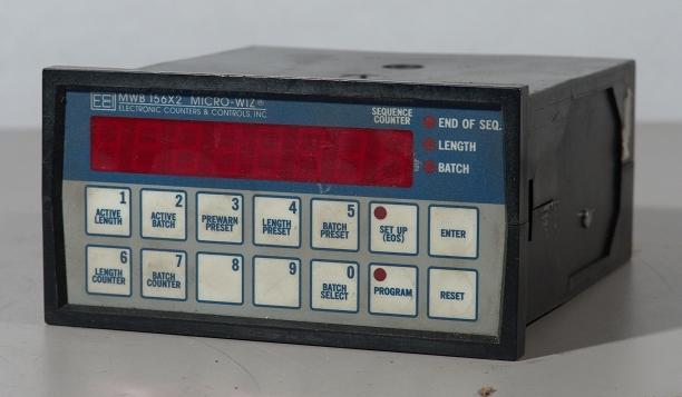 Electronic counters mwb 156X2 micro wiz counter