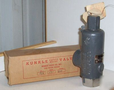 Kunkle model 171 safety relief valve