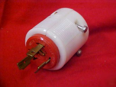 Leviton electric/electrical plug/plugs nema L7-20 male