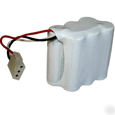 New 9V door lock battery pack fits ilco unican style d