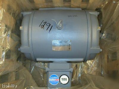 New a. o. smith E636 25HP electric motor