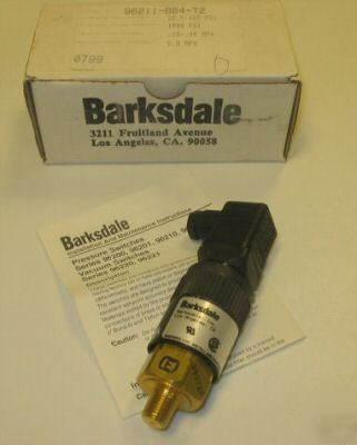 New barksdale compact pressure switch 96211-BB4-T2