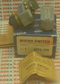 New honeywell micro snap switch BZE6-2RN lot of 2