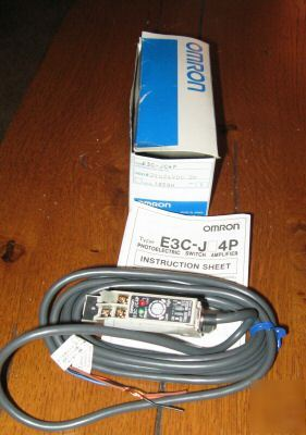 New omron E3C-JC4P photoelectric switch * *