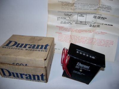 Nos durant 6-digit electric counter,6-ye-40990-403