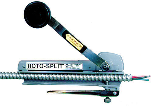 Roto-split rs-101A bx & mc cable cutter by seatek