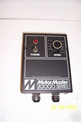 1 minarki model # MM21111B motor master 20000 series