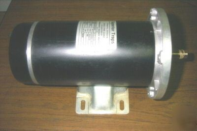 12 Volt Dc 1 2hp Electric Motor C Face Mount