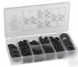 180PC electrical wiring rubber grommet set w/snapon lid