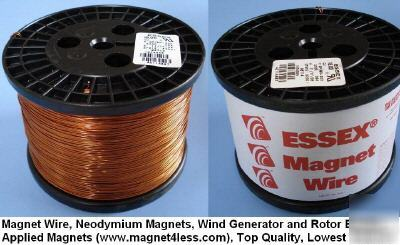 18AWG 11LB 2190FT essex magnet wire wind generator