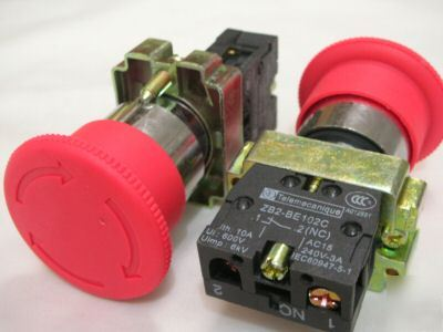 2,telemecanique emergency stop push button switches,XB2