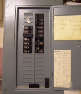 Challenger 100 amp main lug panel board 240 v